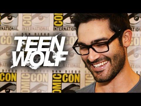 """Tyler Hoechlin """"Teen Wolf"""" Talks Shirtless Scenes! Comic Con 2014"""