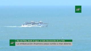 Mar del Plata, desde el agua: un lado desconocido de La Feliz