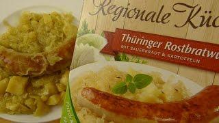 Thuringian Sausage With Sauerkraut & Potatoes / Thüringer Rostbratwurst Mit Sauerkraut & Kartoffeln