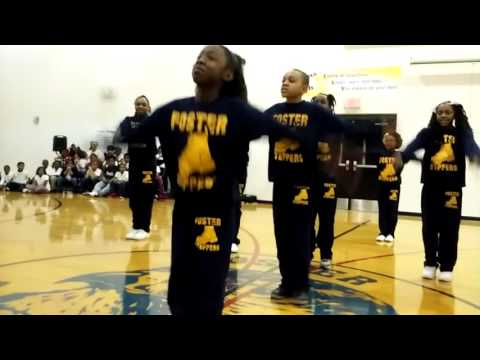 FOSTER TRADITIONAL ACADEMY STEP TEAM