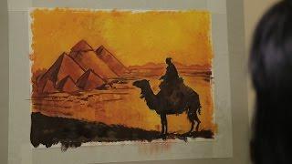 «Уроки рисования». Пирамиды Египта (2.12.2016)