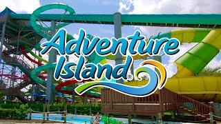 Adventure Island 2019 Tampa, Florida Full Complete Walkthrough Tour