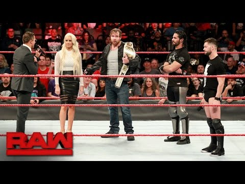 Thumbnail: Seth Rollins and Finn Bálor want the Universal Championship: Raw, May 1, 2017