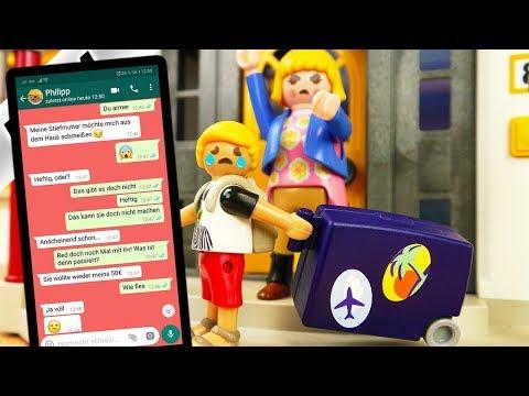 Playmobil Film Deutsch STIEFMUTTER SCHMEIßT PHILLIP AUS DEM HAUS! EINZUG BEI FAMILIE VOGEL!