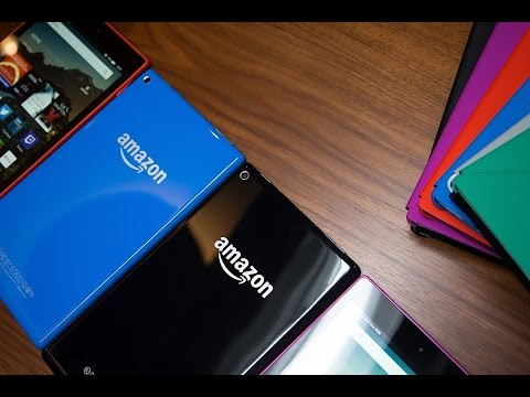 Hands-on with Amazon's new Fire HD tablets