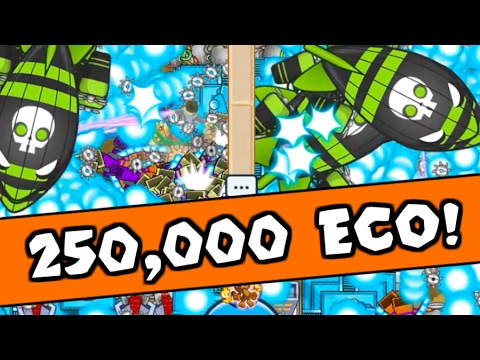 OVER 250,000 Eco! | INSANE High Eco Late Game! (Bloons TD Battles / BTD Battles)