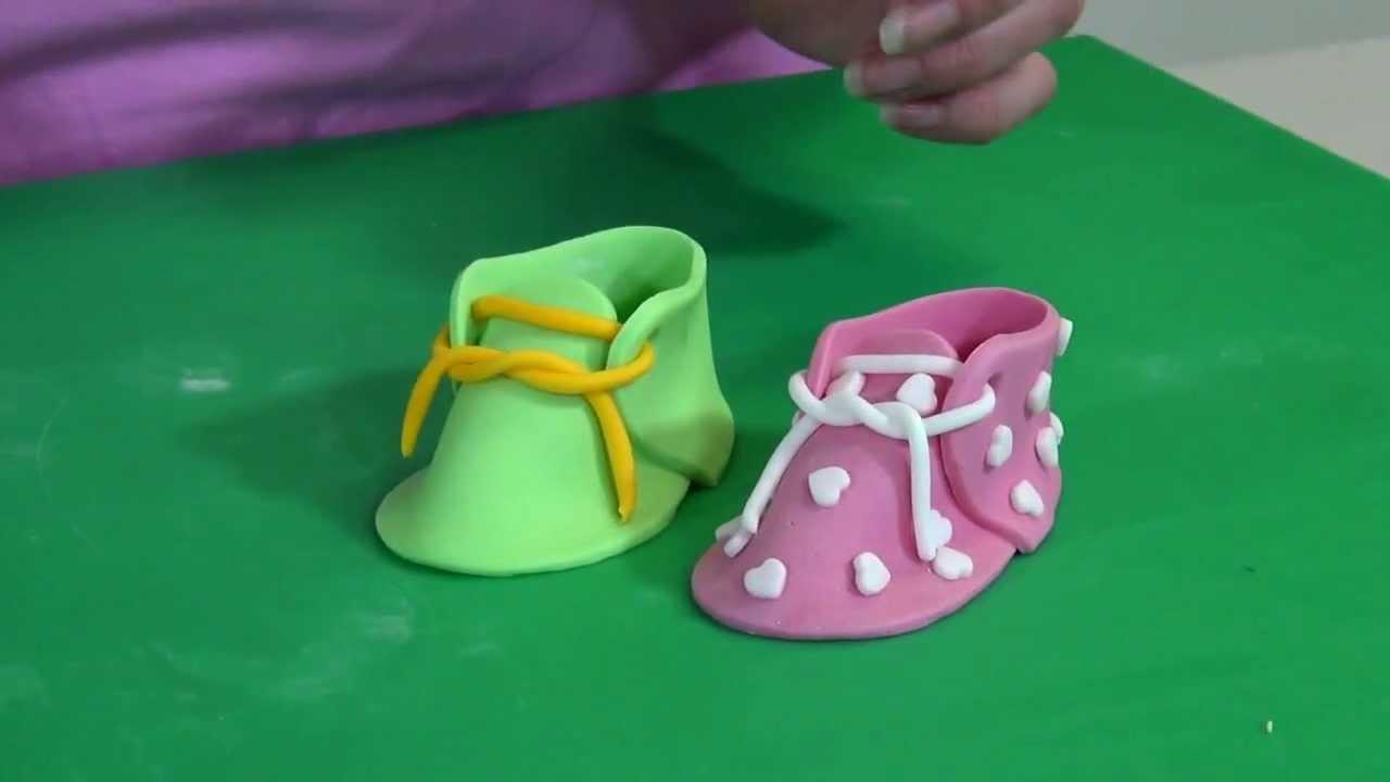 taart decoratie jem baby schoentje youtube