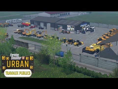 Farming simulator 15 pack vrd by ft modding d cou for Pack travaux