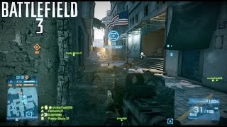 Battlefield 3: Multiplayer Gameplay #2 ::Conquest::  Alleyway of Death - No Commentary