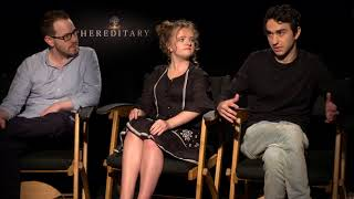Hereditary: Ari Aster, Milly Shapiro & Alex Wolff Official Movie Interview