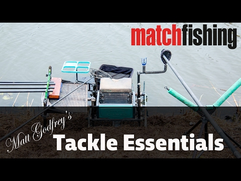 Matt Godfrey's Natural Venue Tackle Essentials