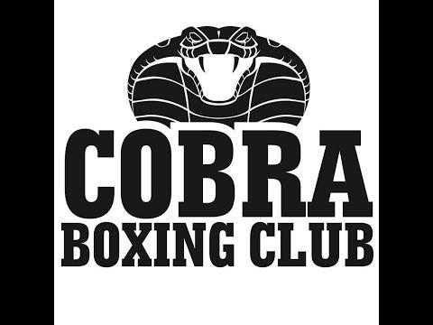 Cobra Boxing Brad Mags vs Billy Burton - Cruiserweight Title Fight