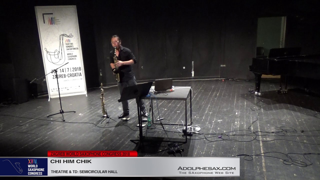 In to the sound by Chi Him Chik   Chi Him Chik   XVIII World Sax Congress 2018 #adolphesax