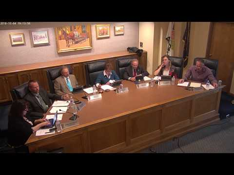 Kaysville City Council 10/4/2018