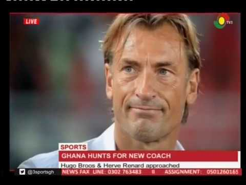 Hugo Broos & Herve Renard approached by GFA for Black Stars