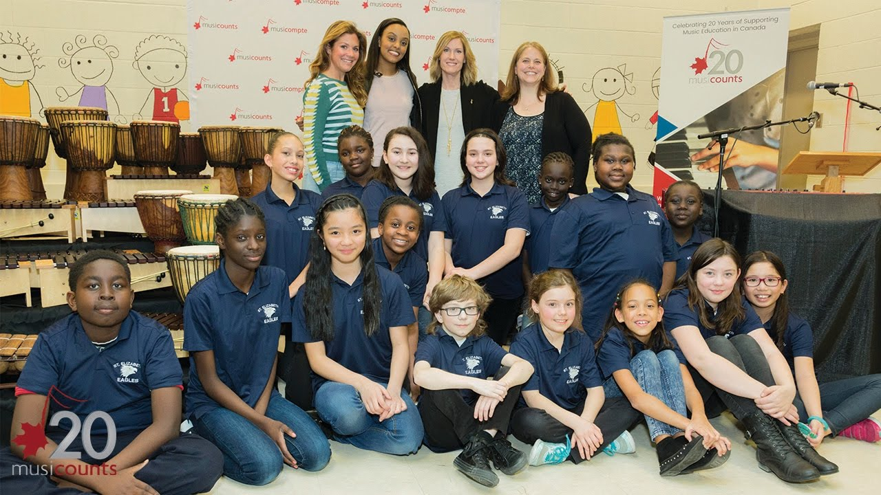 MusiCounts & Ruth B. Surprise Students with 10k in Instruments ...
