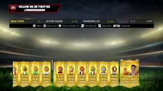 MY BEST 100K PACK!!! TEN 100K PACKS FIFA 15 ULTIMATE TEAM Thumbnail