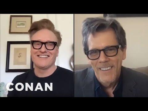 #ConanAtHome: Kevin Bacon Full Interview - CONAN on TBS