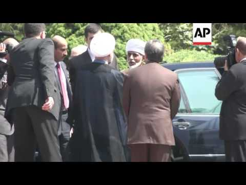 Sultan of Oman first foreign leader to visit since Rouhani took power