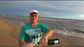 Паттайя 2019. Последний день. Утапао отзыв. Шампанское на пляже Джомтьен.