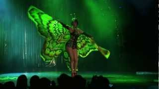 Cleo Viper's Butterfly Metamorphosis At Helsinki Burlesque Festival 2012