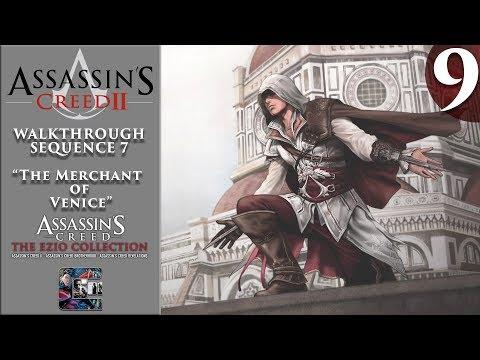"""Assassin's Creed 2 - Walkthrough - Part 9 - Sequence 7 """"The Merchant of Venice"""" (Ezio Collection)"""