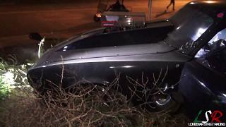 """Godfather"" Camaro vs Sinister Split Bumper ""Monza"" Wreck On The STREET!"