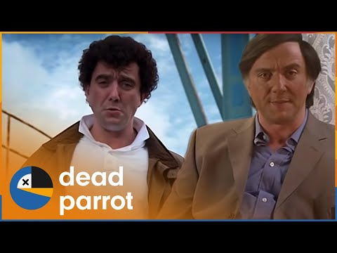 The Peter Serafinowicz Show | Christmas Special | Dead Parrot