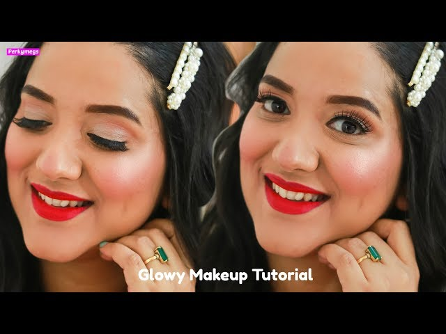 Glowy Makeup Tutorial for Winter | Chatty Tutorial with Life Update | Perkymegs
