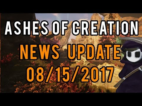 Ashes Of Creation - News Update 08/15/2017 - PAX, New Hire Details and More