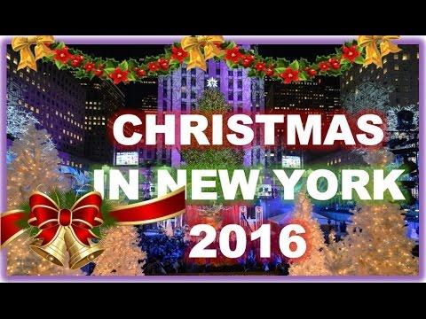 CHRISTMAS NEW YORK 2016