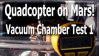 Vacuum Chamber Test 1 - Oct. 9, 2014