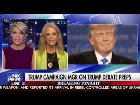 Megyn Kelly and Kellyanne Conway Scuffle Over Spin of Trump's Debate Performance