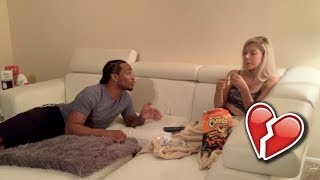 IM NOT ATTRACTED TO YOU ANYMORE PRANK ON GIRLFRIEND!!! ** GOES HORRIBLY WRONG! **
