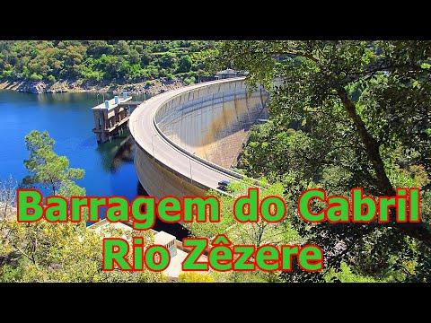 Barragem do Cabril - Rio Zêzere - Portugal