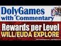 Wartune Eudaemon Patrol Exploration Rewards of Willpowers & Eudaemons per Level