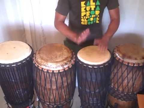 AFRICAN CONGA warm up vibes Richard Olatunde Baker