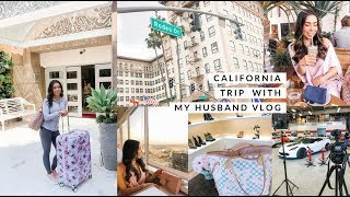 MOMMY AND DADDY CALI VLOG!🌴✈️-SLMissGlamVlogs