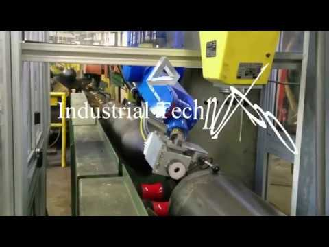Robotic cells for reading data matrix with Yaskawa robot