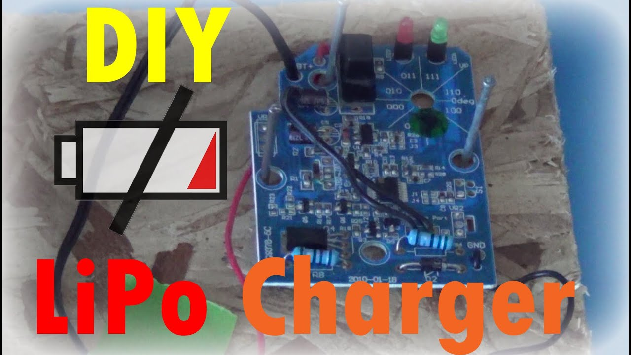 Diy lipo cell charger youtube diy lipo cell charger solutioingenieria Image collections