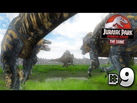 Download Youtube: GIANT DINOSAURS DO BATTLE! - Jurassic Park Operation Genesis | Ep9