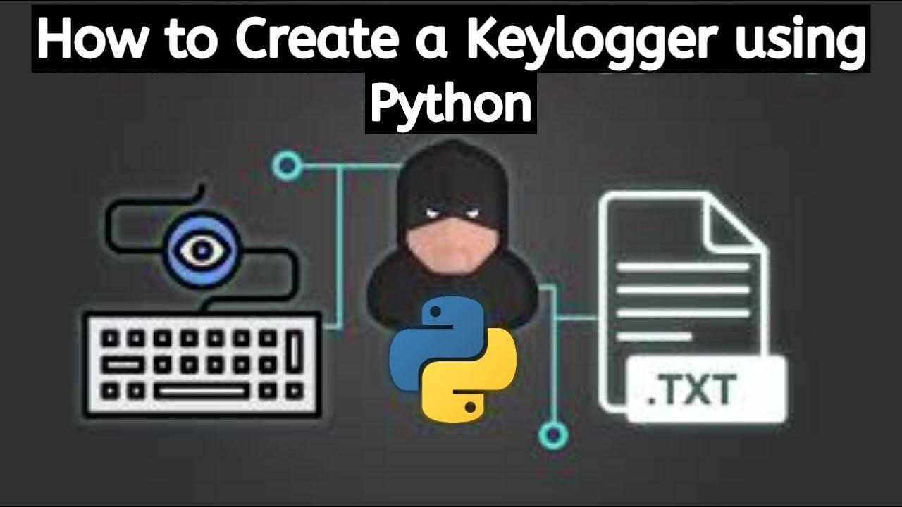 Create a Keylogger with Python  | Python Keylogger