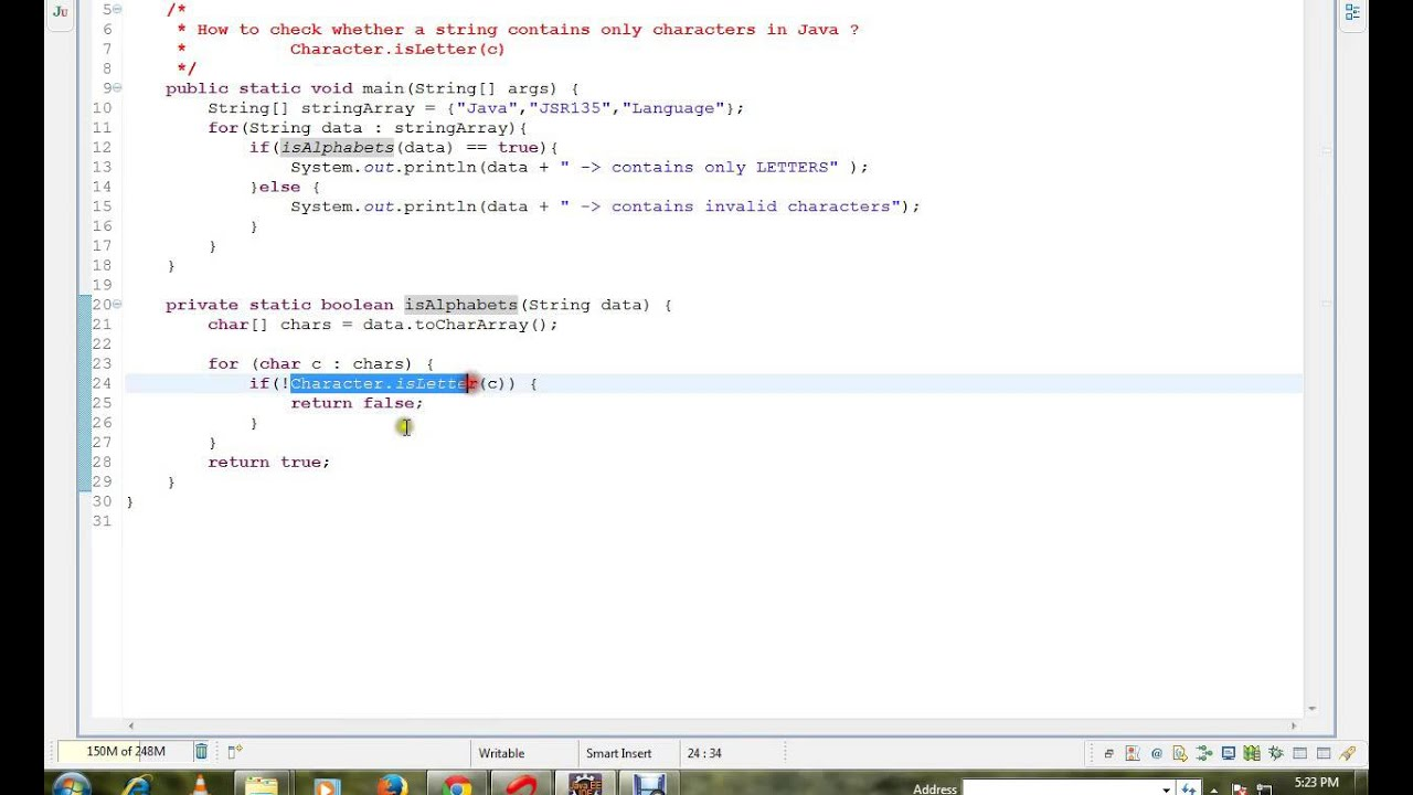 How To Count Number Of Letters In String Java
