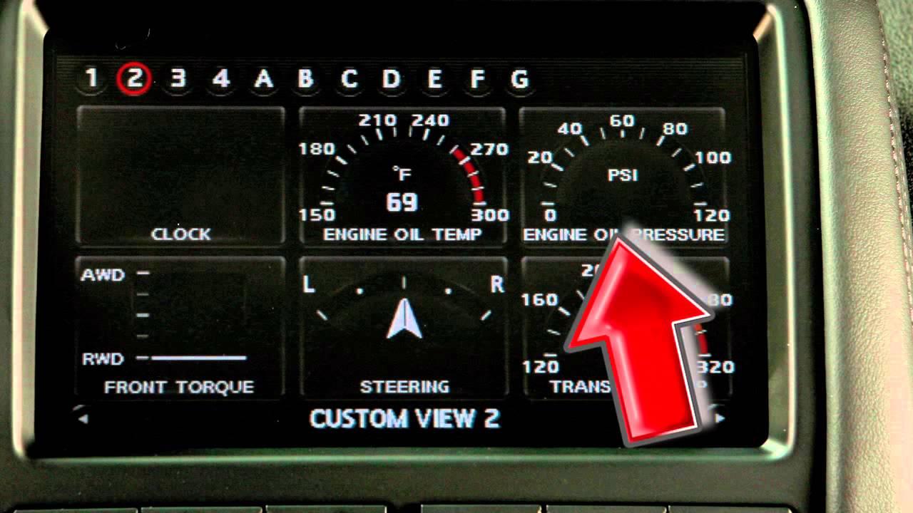 2013 Nissan Gt R Multi Function Display Youtube
