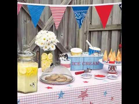 DIY Backyard Party Decorations Ideas YouTube - Backyard party decorating ideas