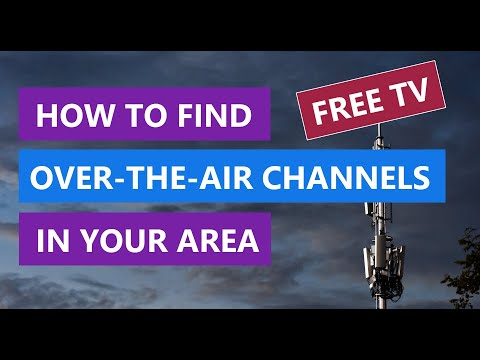 How To Find Over-The-Air (OTA) Channels Near You - TV Station Locator For Antenna Tool