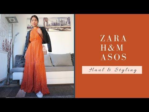 ZARA, ASOS, H&M SS2019   Haul & Styling   #springfashion2019 #asos #zara #hm