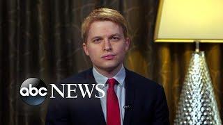 Ronan Farrow reacts to NY AG resignation