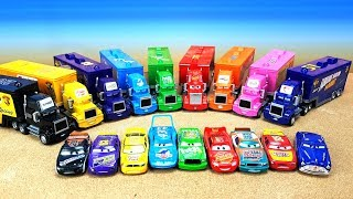 Download Disney Pixar Cars3 Toy Learning Color Cars Lightning McQueen Mack Truck pour les gosses Mp3 and Videos