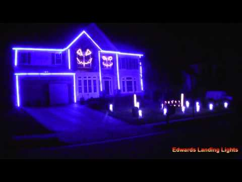 Halloween Light Show 2015 - Downtown by Macklemore & Ryan Lewis